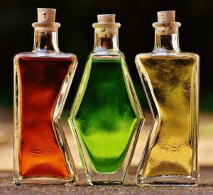 karafki butelki